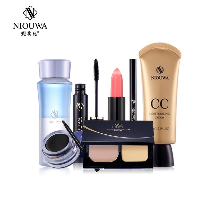 妮欧瓦专业奢华女神套装 全套化妆品组合百变妆容包邮