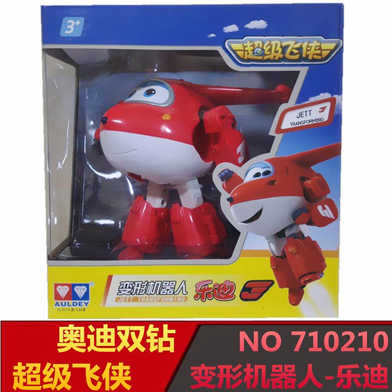 710210正版奥迪双钻乐迪酷飞 益智儿童玩具- 超级飞侠 变形机器人