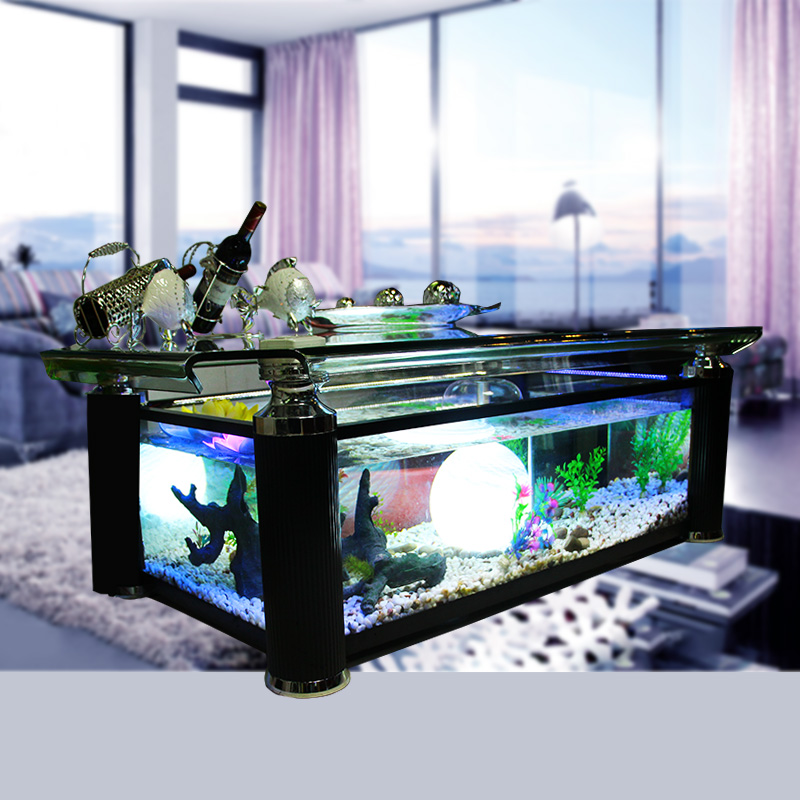 Black Coffee Table Fish Tank: [USD 444.11] Coffee Table Fish Tank 1 3 M 1 5 M Fish Tank