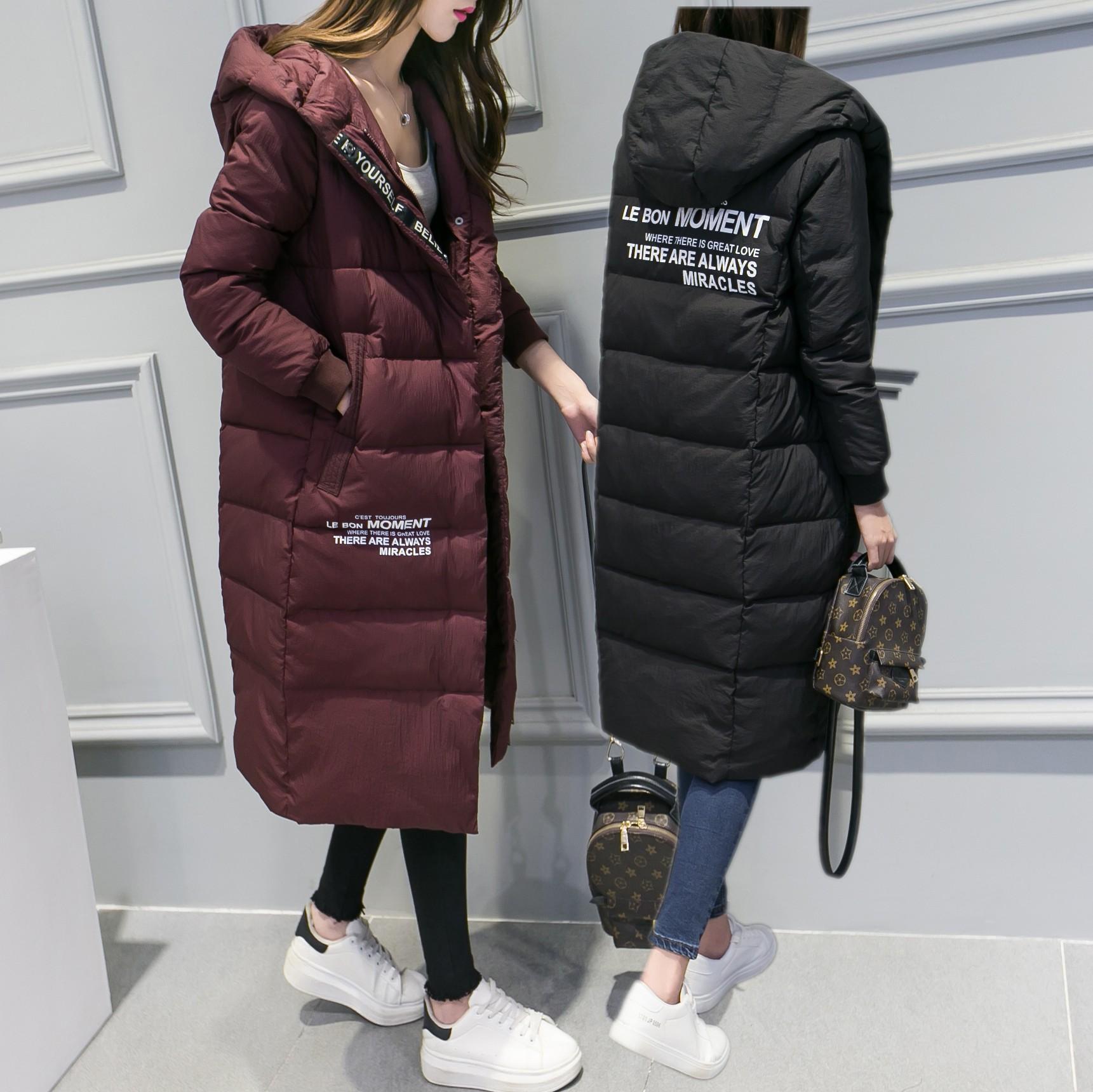 2016新款修身中长款羽绒棉服女学生韩版显瘦棉袄大码加厚保暖棉衣