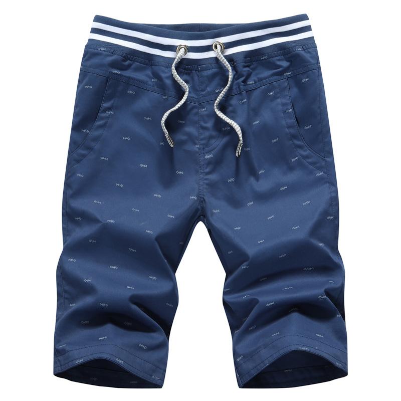 Mùa hè nam mỏng cơ thể 5 năm điểm quần 7 điểm bảy điểm quần lớn mùa hè ống túm phần mỏng quần short nam giới thường