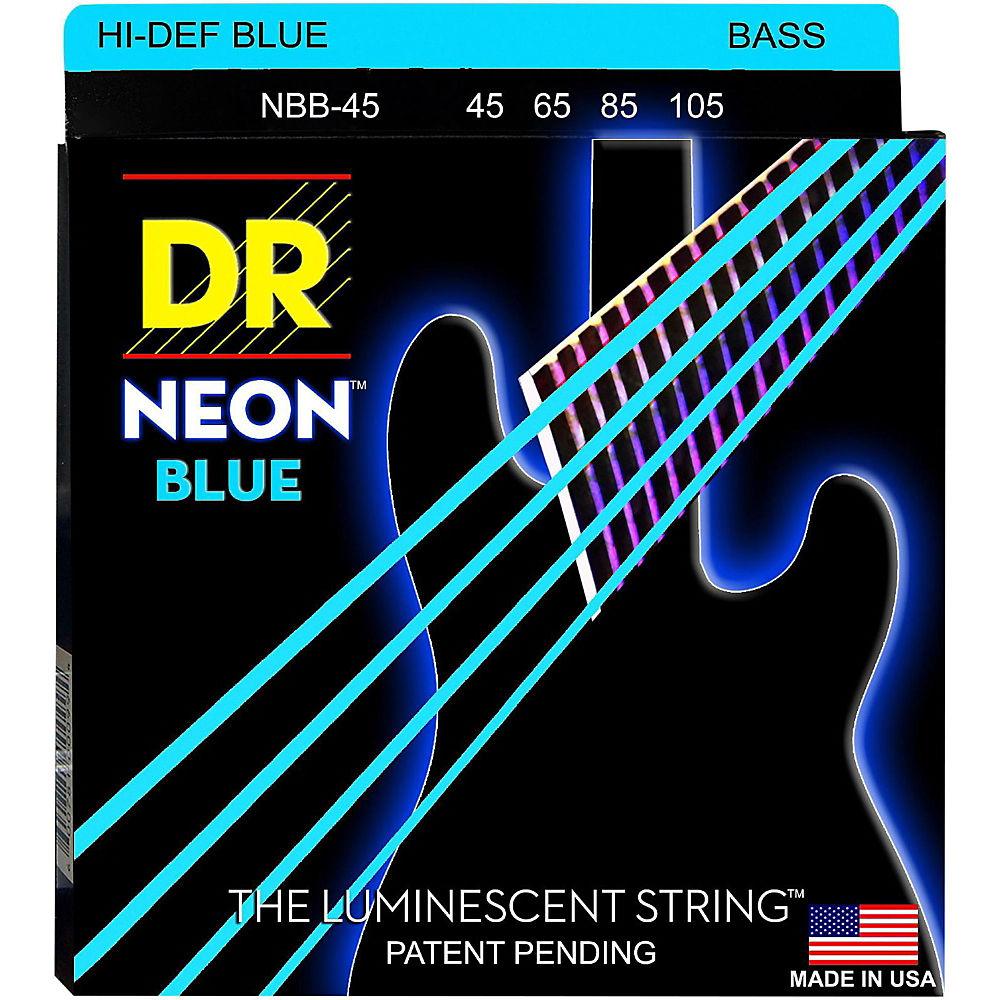 Американский производитель DR Neon разноцветный Неон ( красный Оранжевый желтый зеленый синий порошок белый Multicolor) Электрические басовые струны / басовые нити 45-105