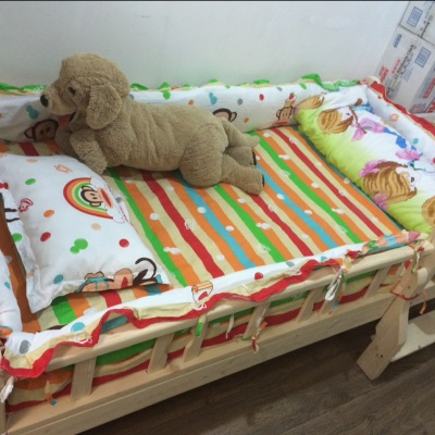 Low-priced free e-mail cotton baby bed enclosure with cotton padded and child cots special offer