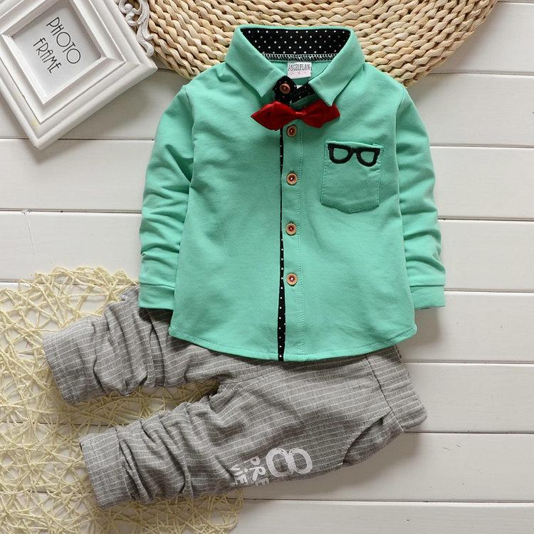 小童春秋套装宝宝春装1-3周岁男童幼儿外出婴儿衣服春季童装2-4岁
