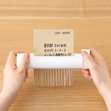 Japan No PrintEd Goodes/MUJI White Simple Office Manual Shredder Mini Hand ShakeR
