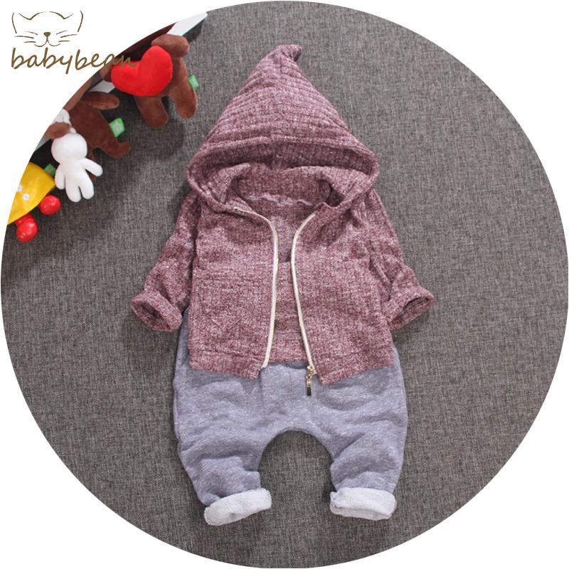 童装男童春秋装套装男宝宝2016婴儿衣服0-2岁半儿童春装1-3周岁潮