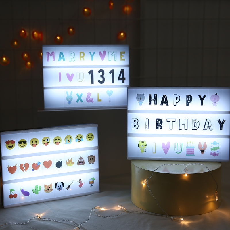 Usd 6 21 New Led Letter Puzzle Light Box Home Decoration