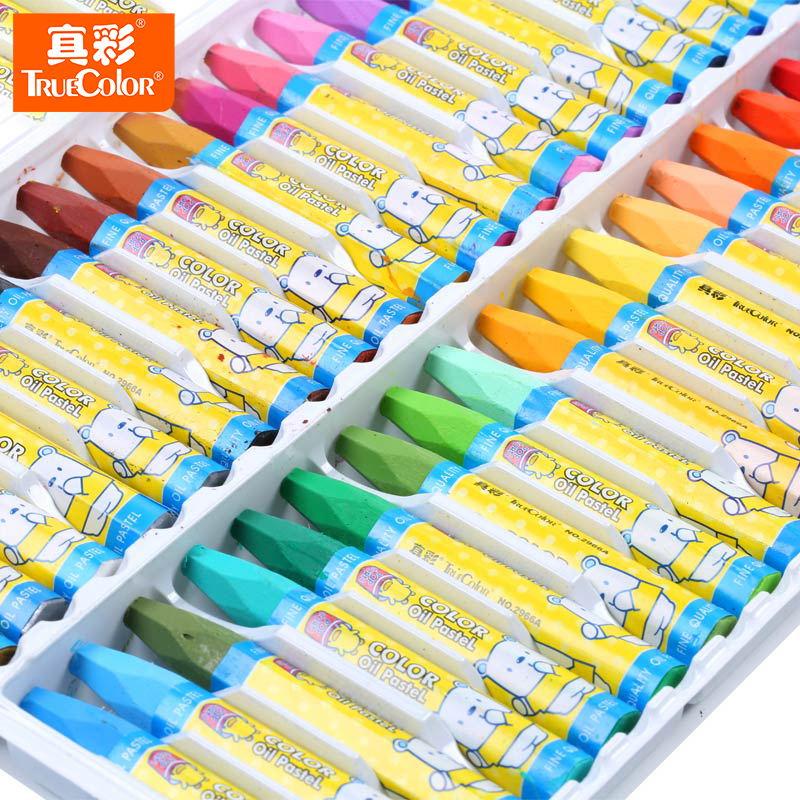 真彩4D魔幻AR油画化棒36色幼儿童绘画蜡笔送3D立体绘本涂涂乐包邮