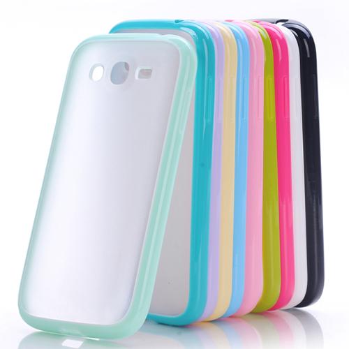 小a糖果护套i9300手机壳套保3糖果磨砂纯色边框9308硅胶盖世三星