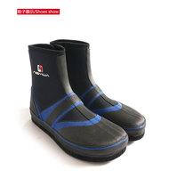 【DD рыболовные снасти новая коллекция нейтральный мужские и женские Обувь для рыбалки средние нескользящие Войлочная обувь синий черный