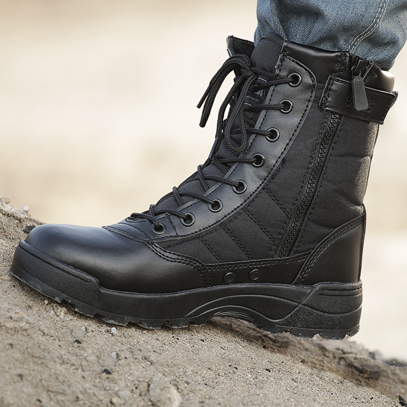 Military boots male special forces 07 combat boots high-top tactical boots  army boots boots 89c67afb255