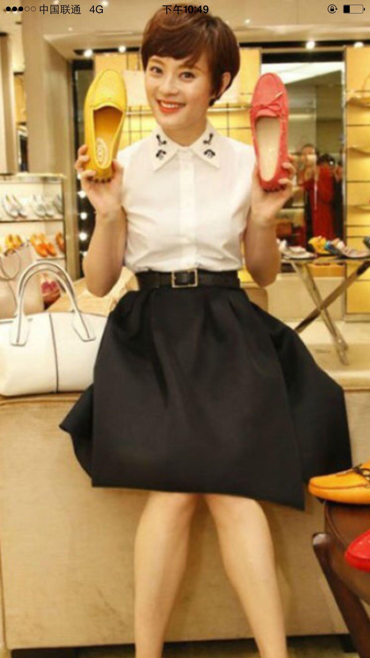 2016夏新明星套装短裙连衣裙欢乐颂王子文曲筱绡同款T恤绣花扑克
