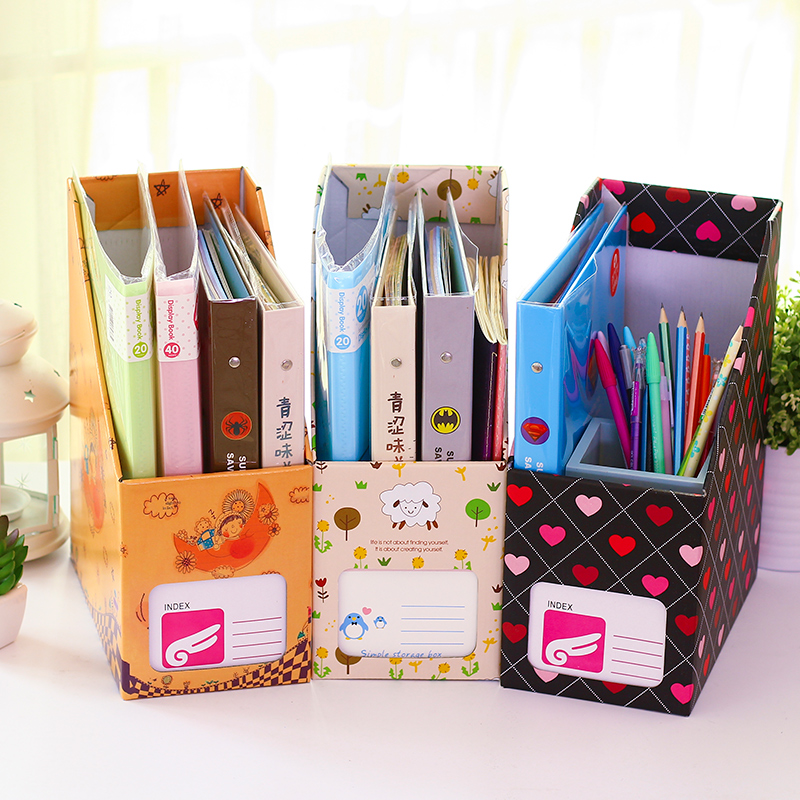 usd 5 09 kaka bear cute creative desktop paper file box simple diy