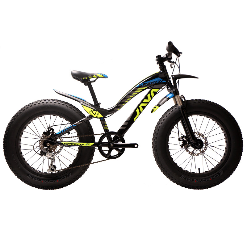 USD 391.80] JAVA snowmobile Bicycle 20 inch 7 speed dual disc brakes ...