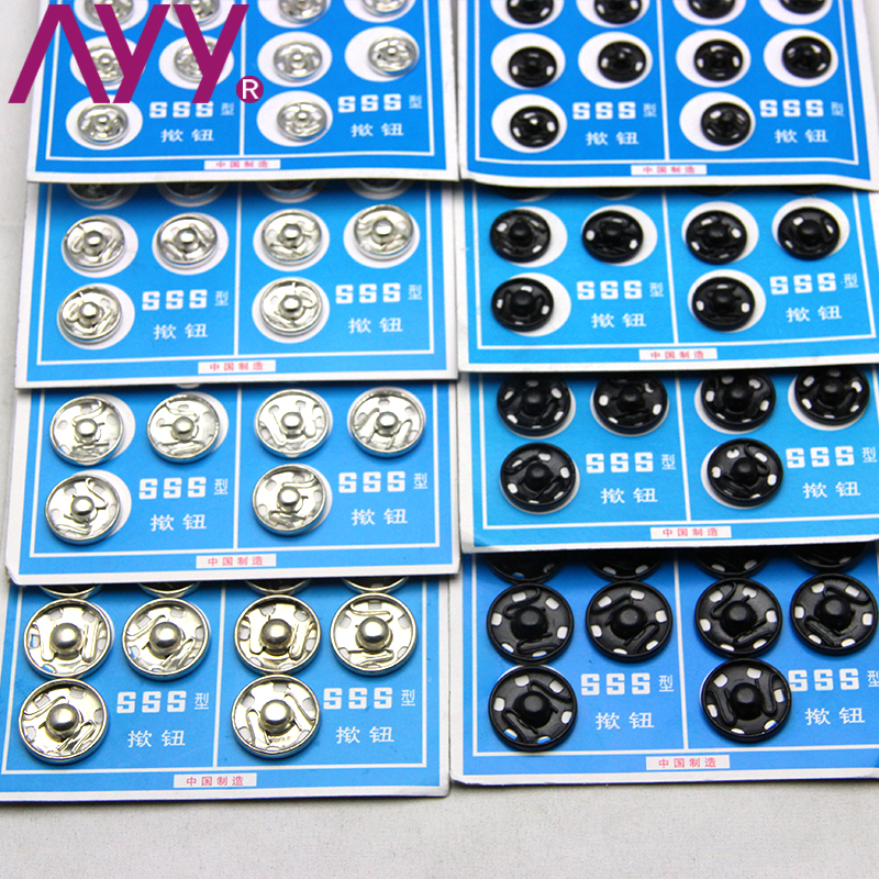 365b755c8 AYY snaps dark button mother buckle snap button snap button DIY hand sewing  metal invisible button 10-15mm