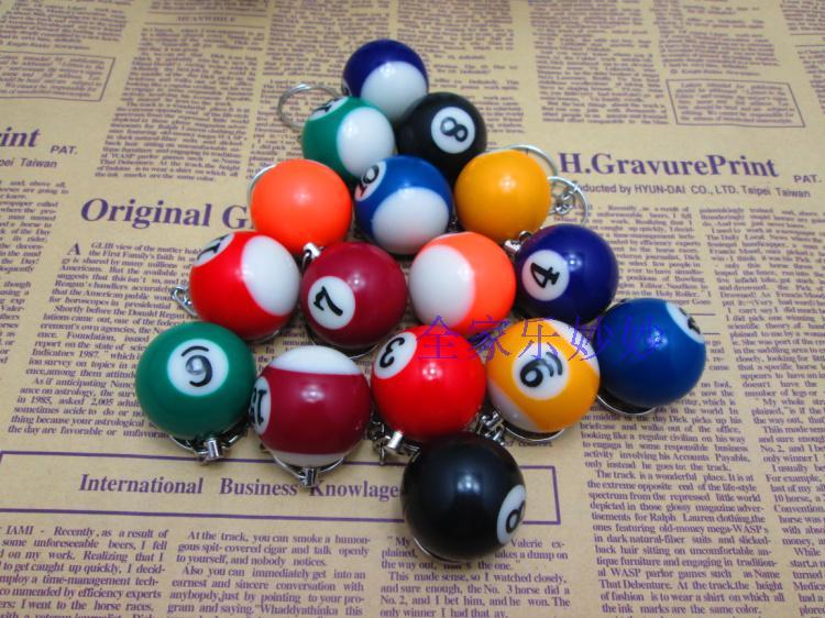 Бильразмер кулон бильразмер брелок стол мяч аксессуары творческий подарок бильразмер клуб статьи праведность черный небольшой товар
