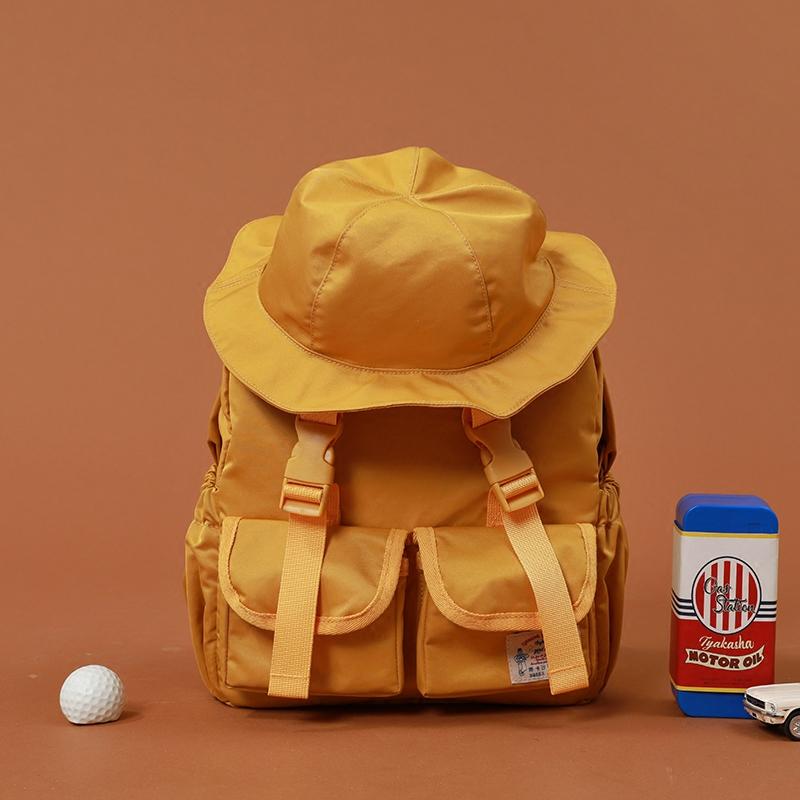 TYAKASHA塔卡沙加油系列造型帽包盖渔夫双肩包