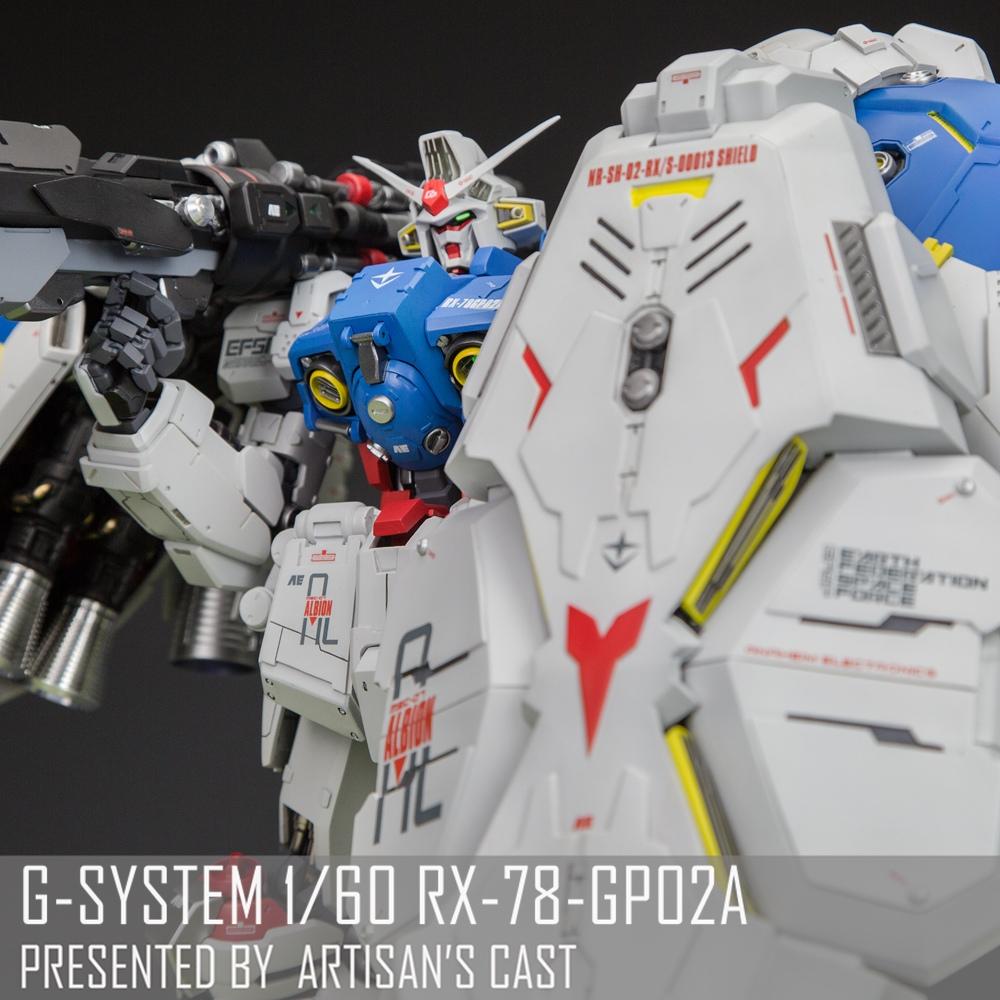 【匠心社】G-SYSTEM1/60GP0202A高达GK白模代工v匠心成品