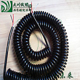 Spring wire Spiral cable Spring wire 1 core 2 core 3 core 4 core 5 core 6 core 8 core spring power cord
