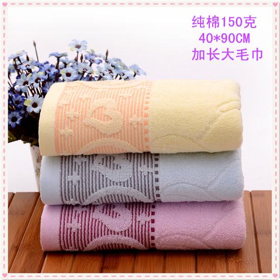 宾馆酒店纯棉毛巾加大加厚150g200g咖啡色毛巾灰色毛巾100条刺绣