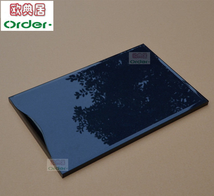 Usd 4536 Cabinet Door Custom Tempered Glass Invisible Crystal