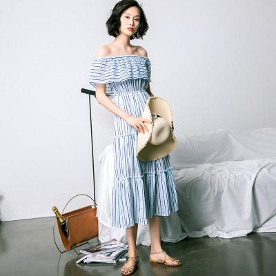 连衣裙长裙是鉴定女神的无忧标准! 服装 第7张