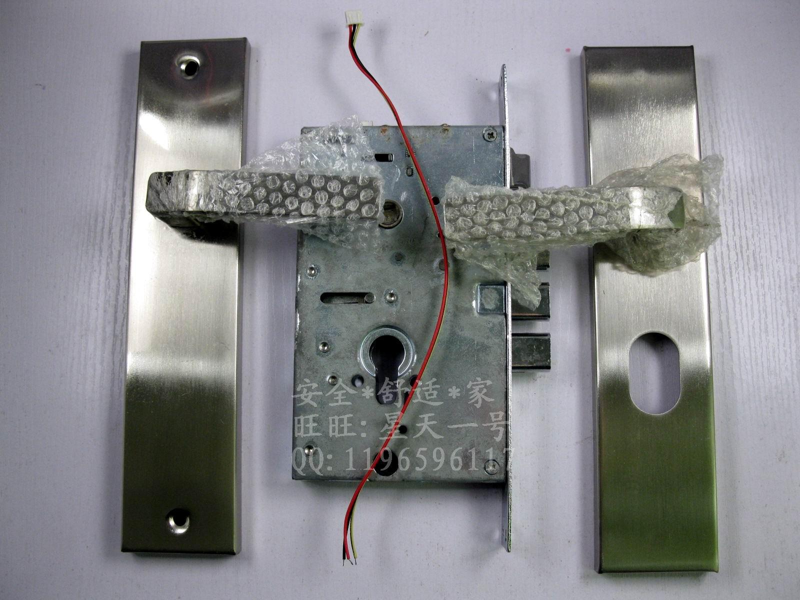 ec14超静音锁 内装对讲电锁 防盗门电控锁 小区单元电锁 自动上锁