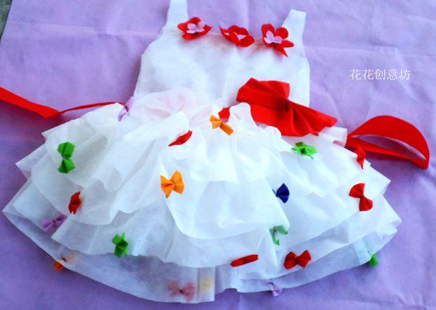 环保时装秀婚纱制作_环保时装秀婚纱的制作