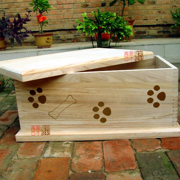 ... 适用狗狗猫咪乌龟小兔白鼠所有宠物-木质宠物箱子M
