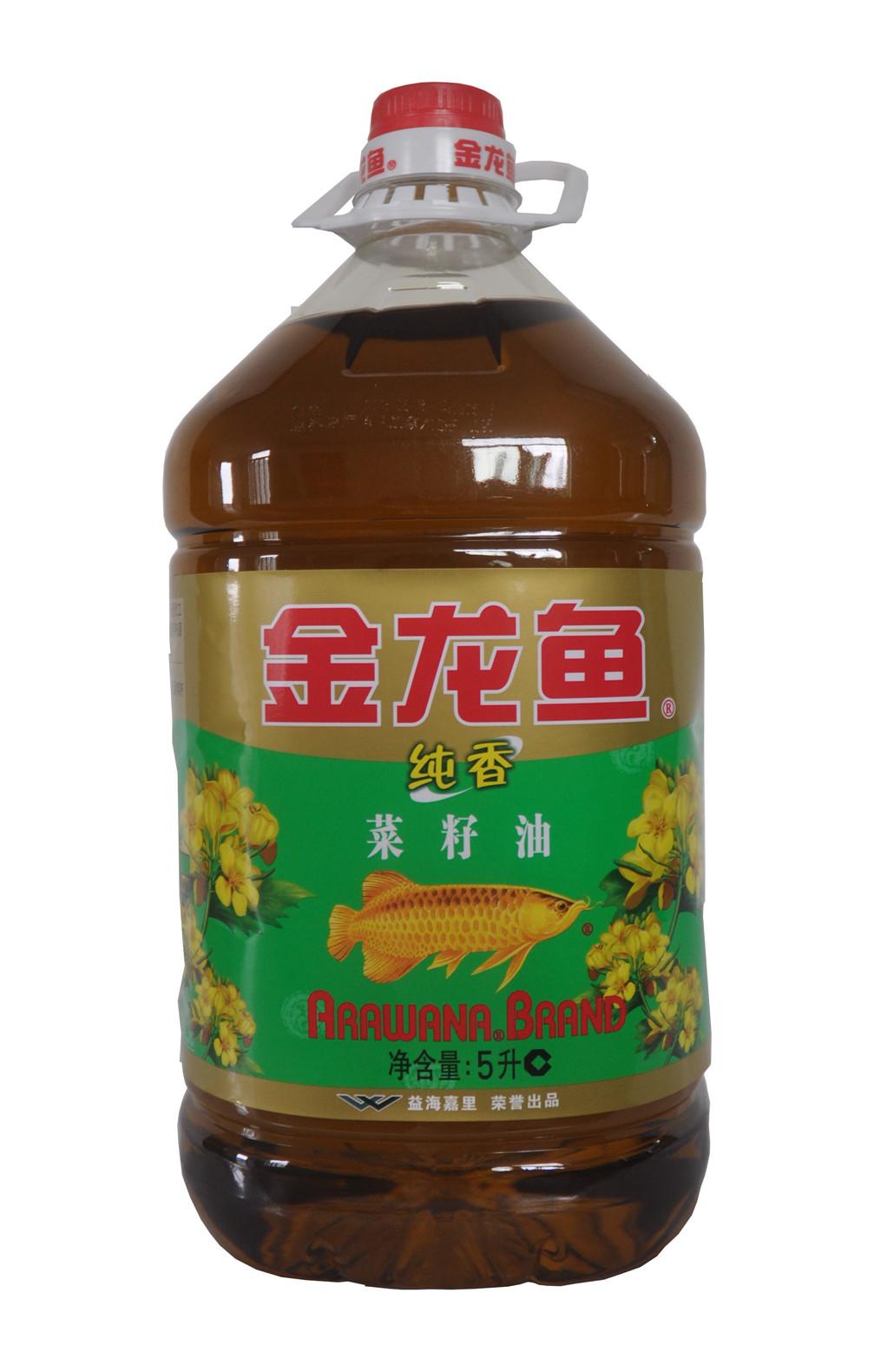 金龙鱼大米5kg_【天猫超市】金龙鱼 食用油 纯香菜籽油 5L/桶 品牌品质有保证