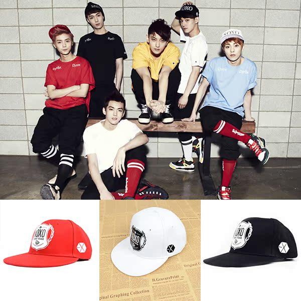 exo同款帽 exo棒球帽 exo wolf帽