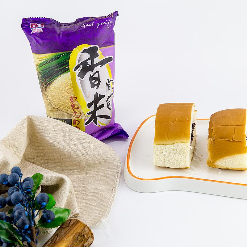 香米面包紫米面包老式切片奶酪夹心沙拉酱黑米面包营养零食做早餐