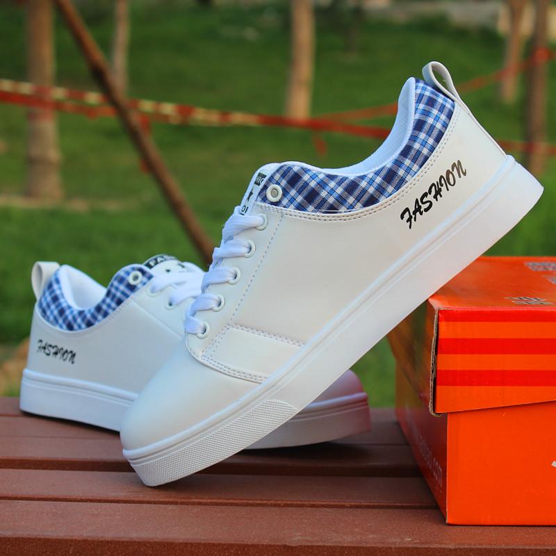 夏季白鞋男板鞋 板鞋男夏 板鞋男韩版