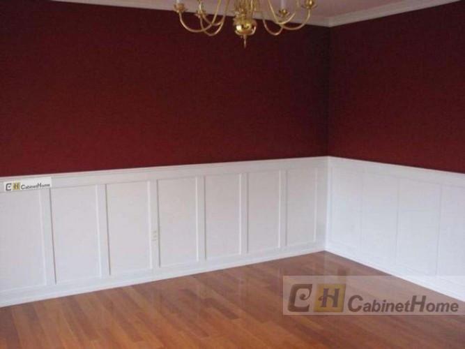 实木护墙板墙裙板 欧式墙裙板 墙裙板