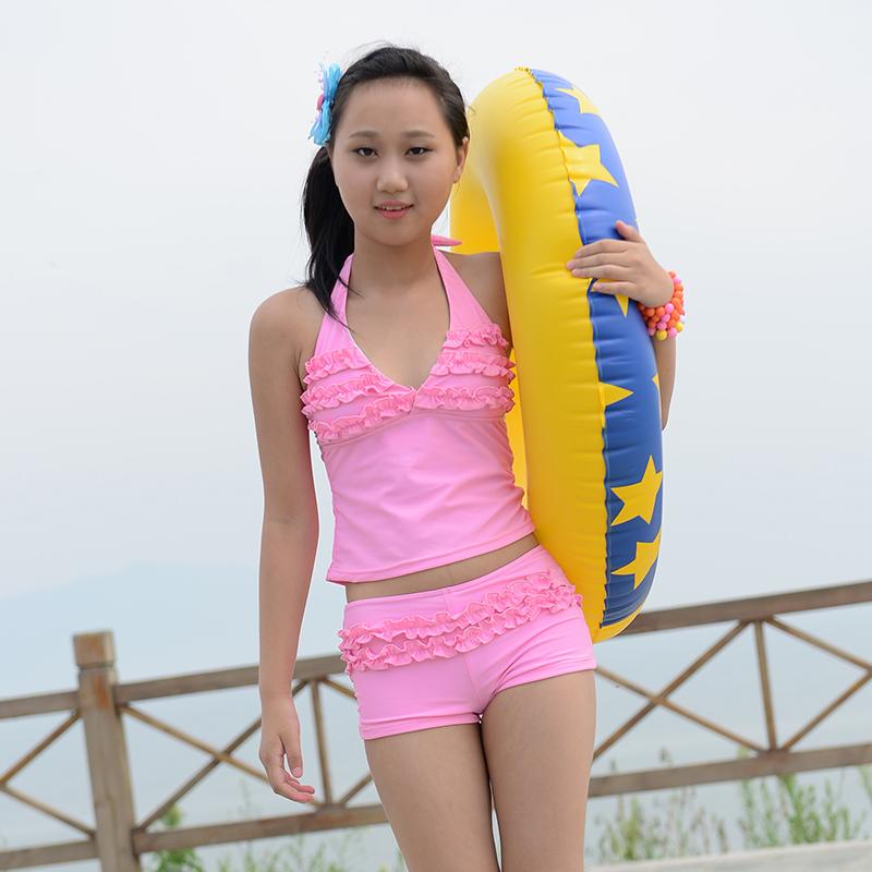 女孩泳衣装 15岁 女孩泳衣
