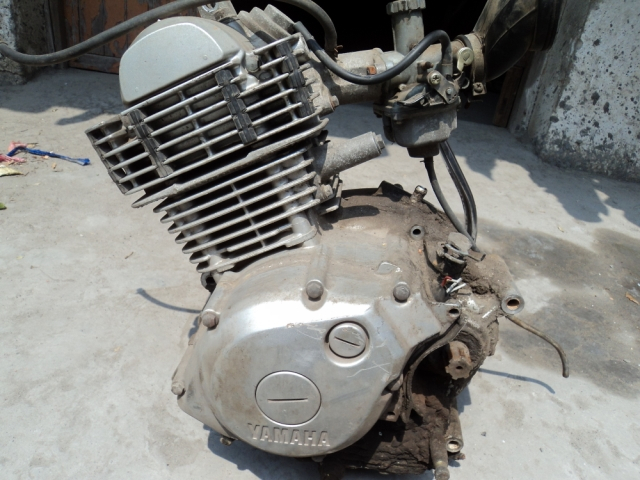 摩托车配件 YB125 天剑雅马哈二手发动机拆卖零件