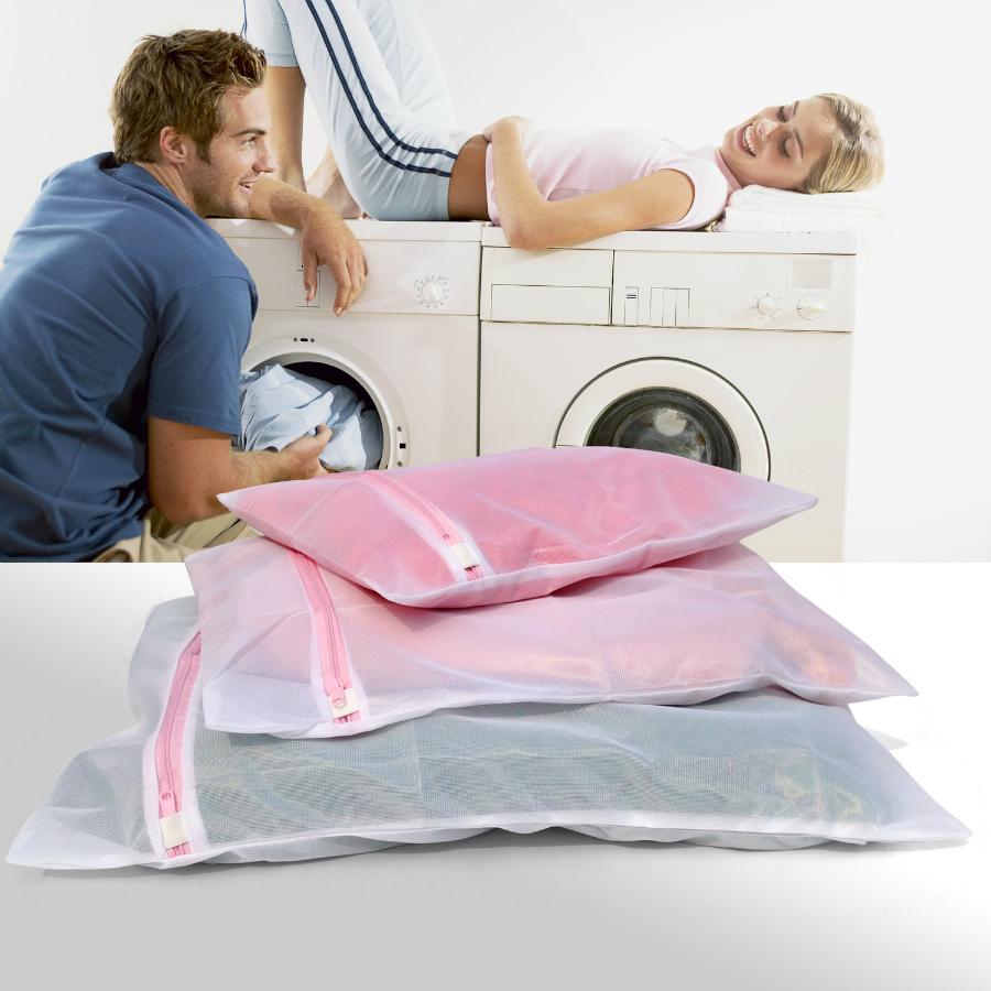 加厚洗衣袋护洗袋三件组合套装细网大号日本洗衣机专用毛衣网袋
