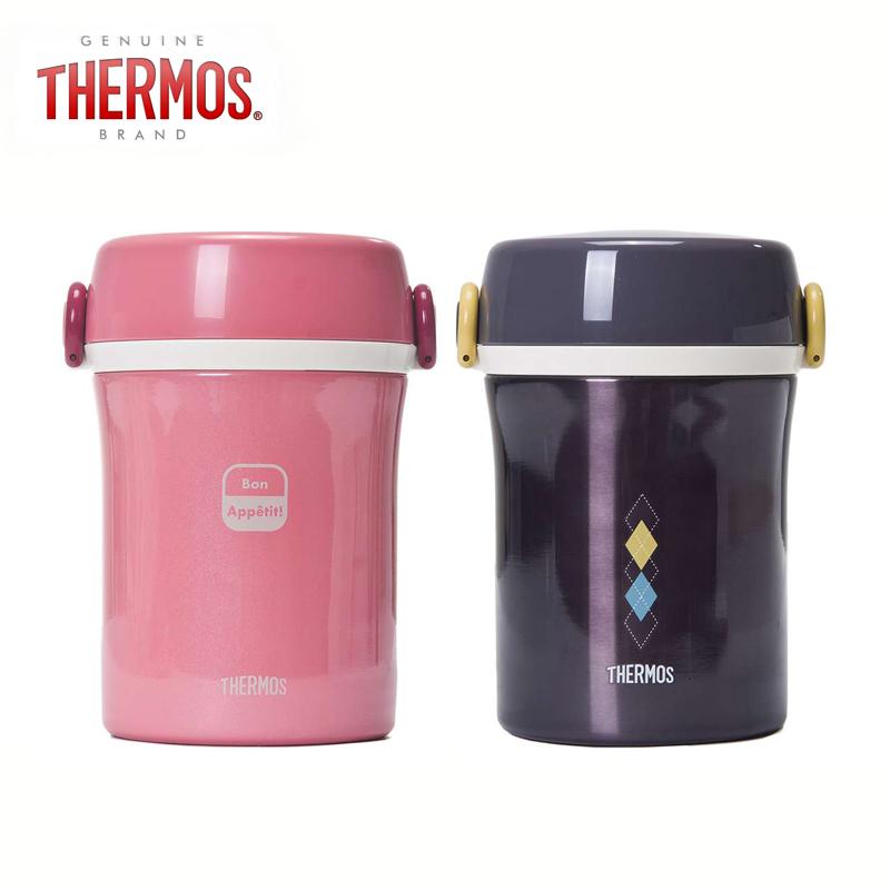 膳魔师不锈钢保温便当盒便携分层多层饭盒保温桶餐盒JBC-800