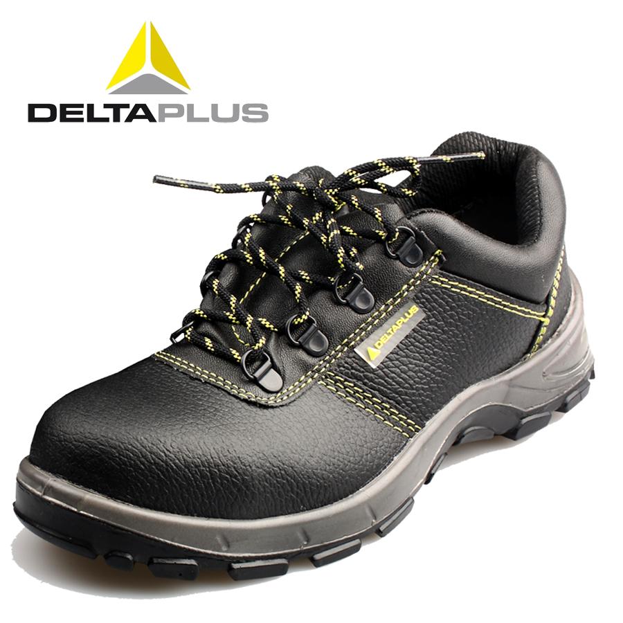 代尔塔钢包头劳保鞋透气安全绝缘鞋防穿刺工作防护鞋劳保鞋