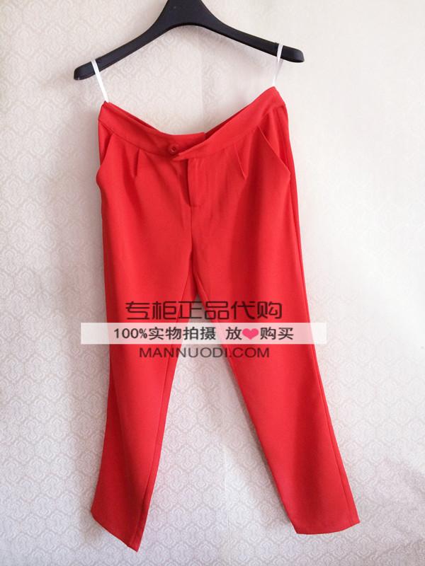 蔓诺蒂2015夏季新款裤子5205507专柜正品代购吊牌价299