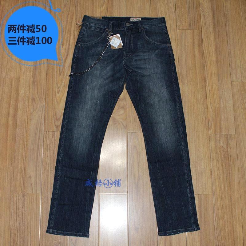 现货 Wrangler 酷爽面料 弹性舒适小脚牛仔裤 薄款 WMC331236196