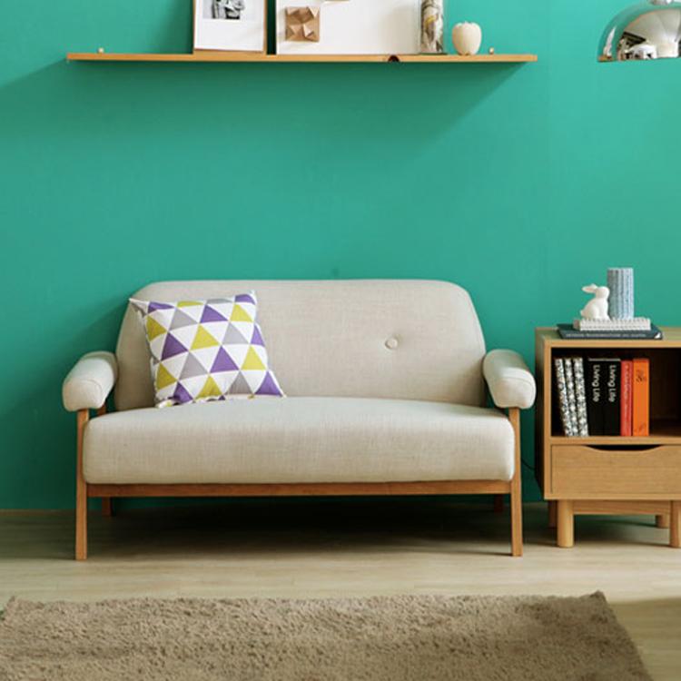 北欧宜家高档布艺沙发单人双人三人组合简约小户型办公休闲沙发椅
