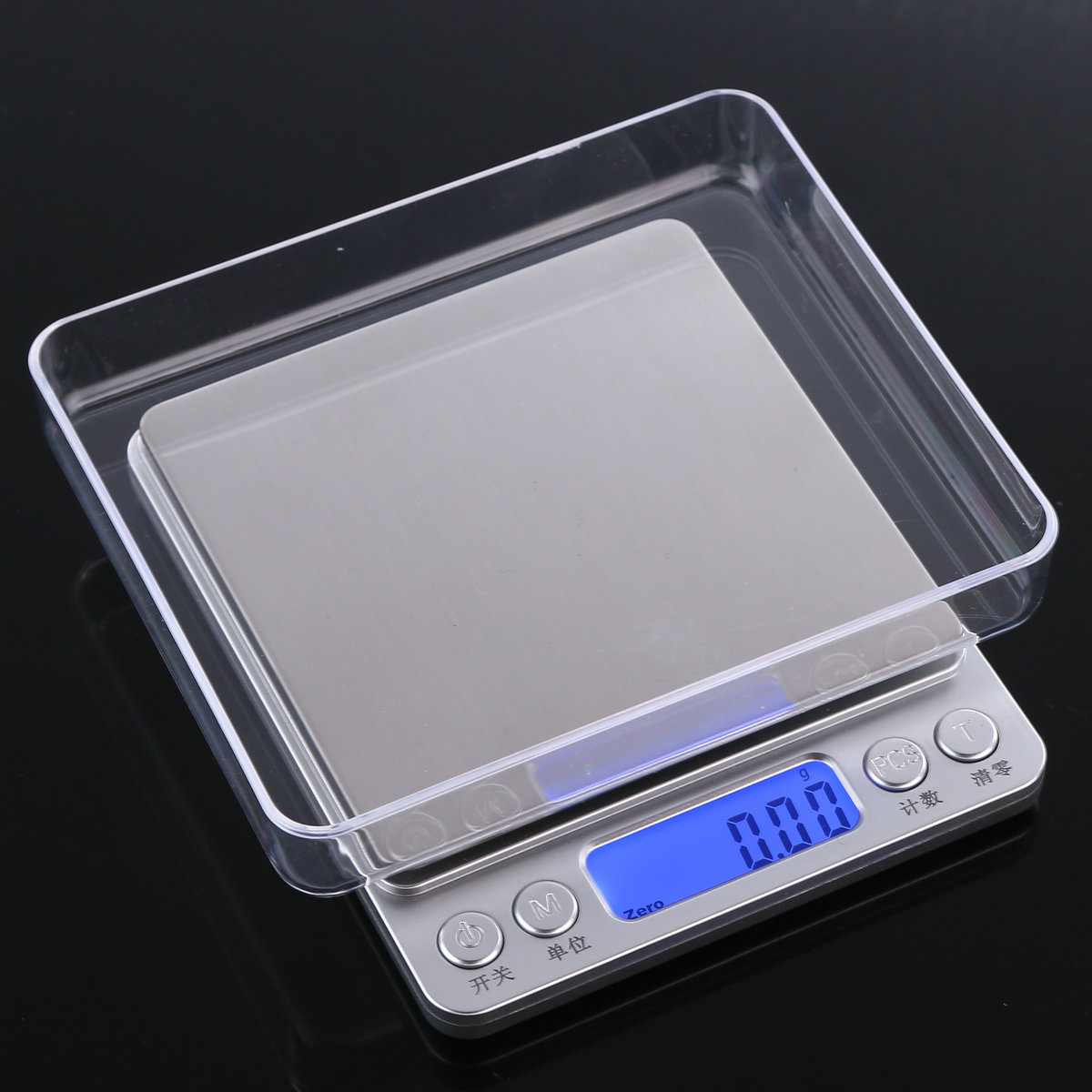 精准迷你珠宝秤家用电子称0.01g厨房秤克称食物称重烘焙0.1g天平