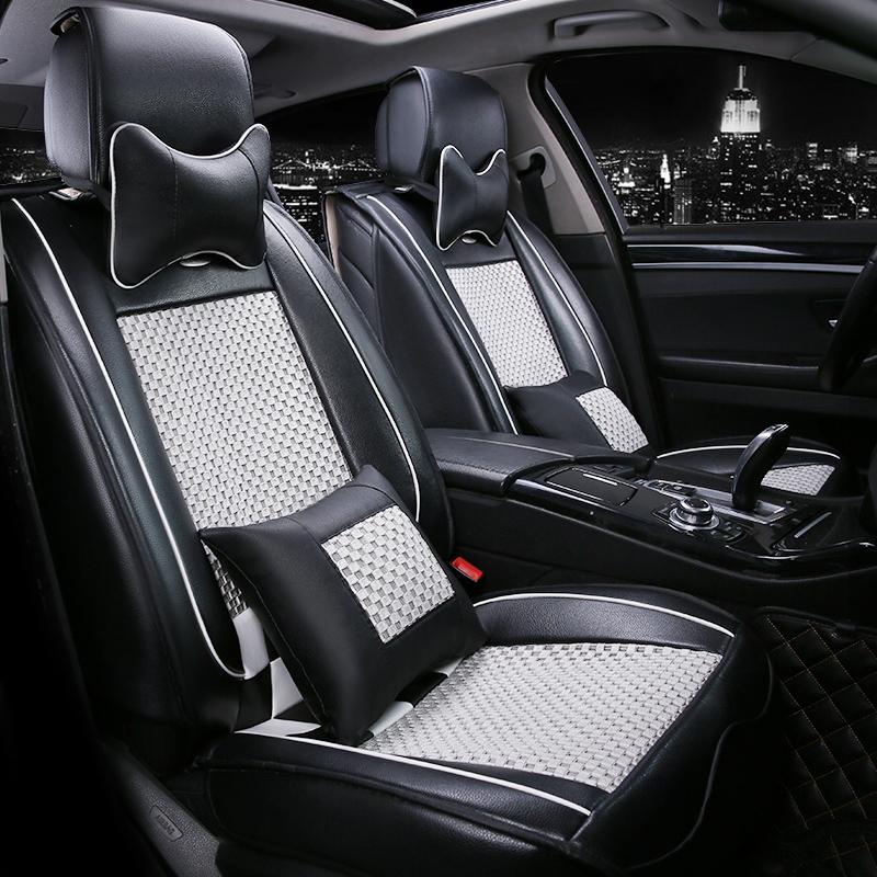 新老款朗逸帕萨特途观速腾迈腾福克斯k3K5汽车坐垫夏季全包座垫套