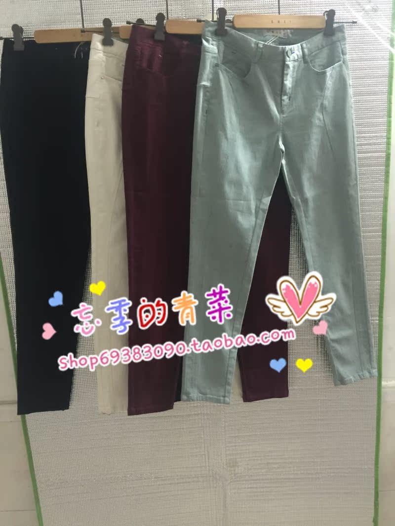 专柜正品代购 GMXY/古木夕羊 2015年秋款裤子 F355502 569