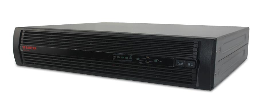 深圳山特原装正品UPS不间断电源C3KRS 3000VA 2400W机架式外接DC