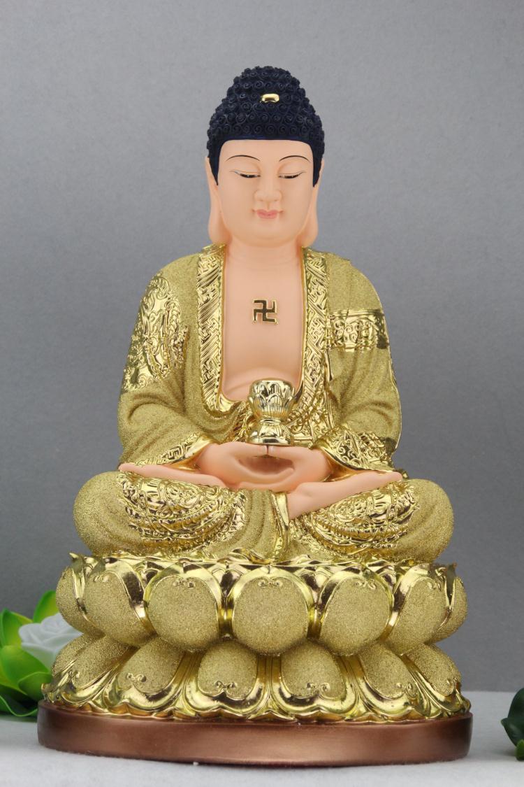 自在堂结缘佛像画西方三圣组图/地藏王/八十八佛/绢丝挂画