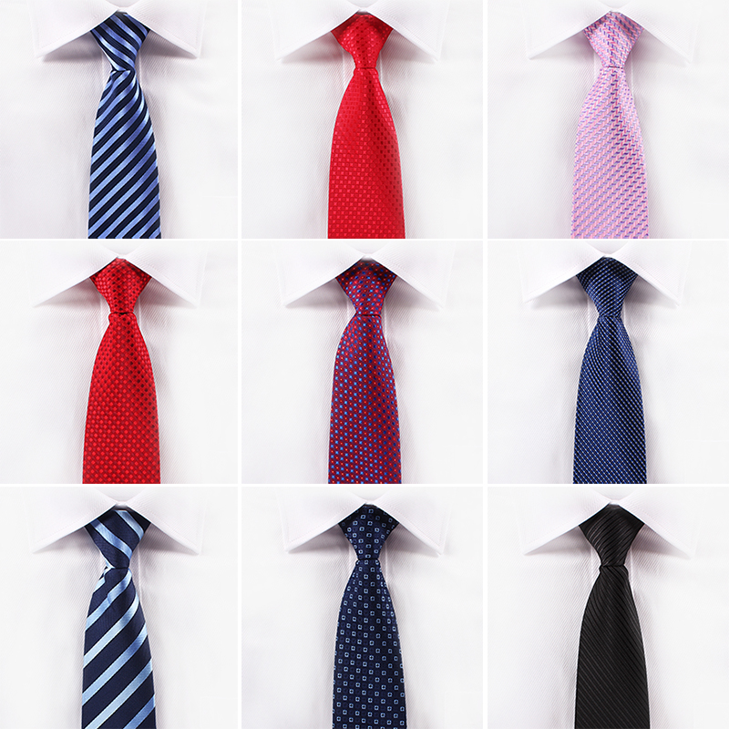 TIANWEI高档拉链领带8cm 男正装商务结婚新郎领带 懒人易拉得领带