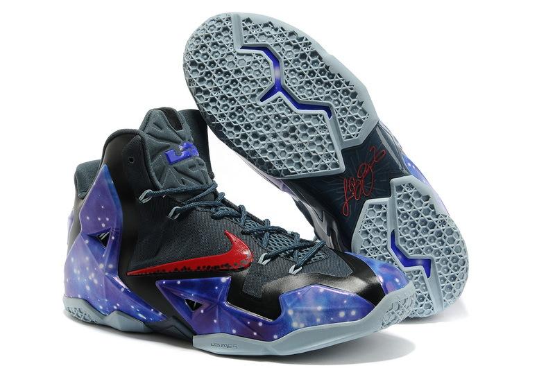 Nike lebron 9 galaxy blue