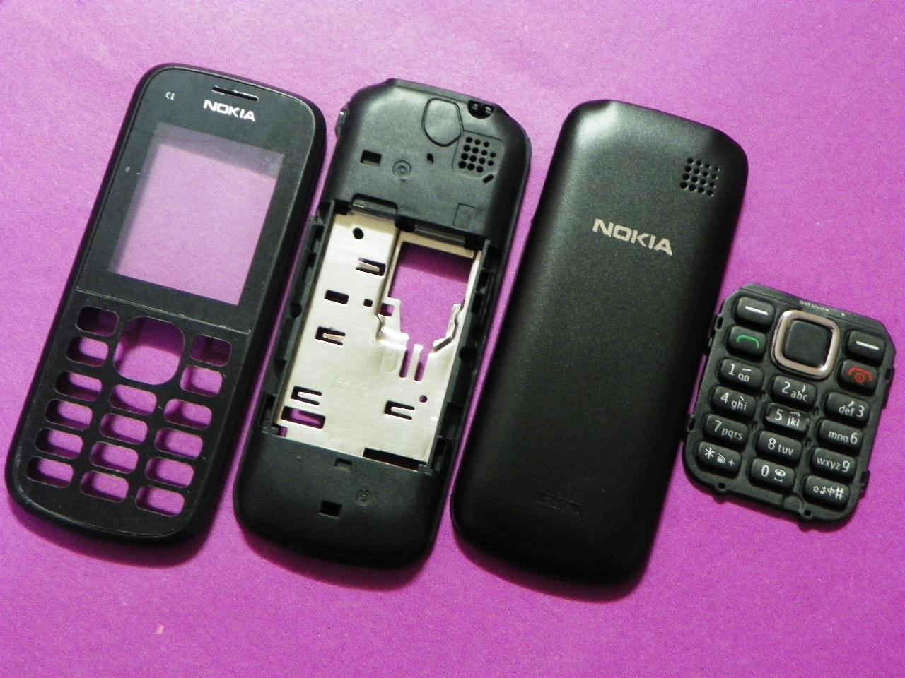 诺基亚920待机_诺基亚C1-02机壳 NOKIA C1-02外壳 C1-02 手机外壳 带按键 带工具